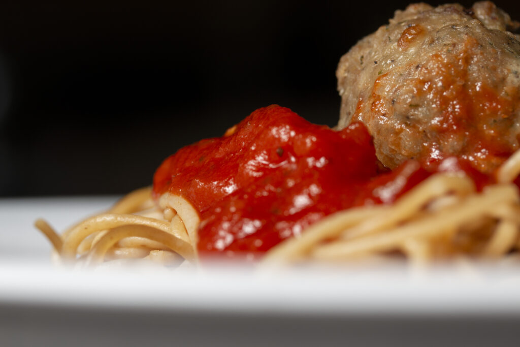 Spaghetti and meatballs at Pomodoro on Wednesday Dec.. 19, 2018. Sam O'Keefe/University of Missouri