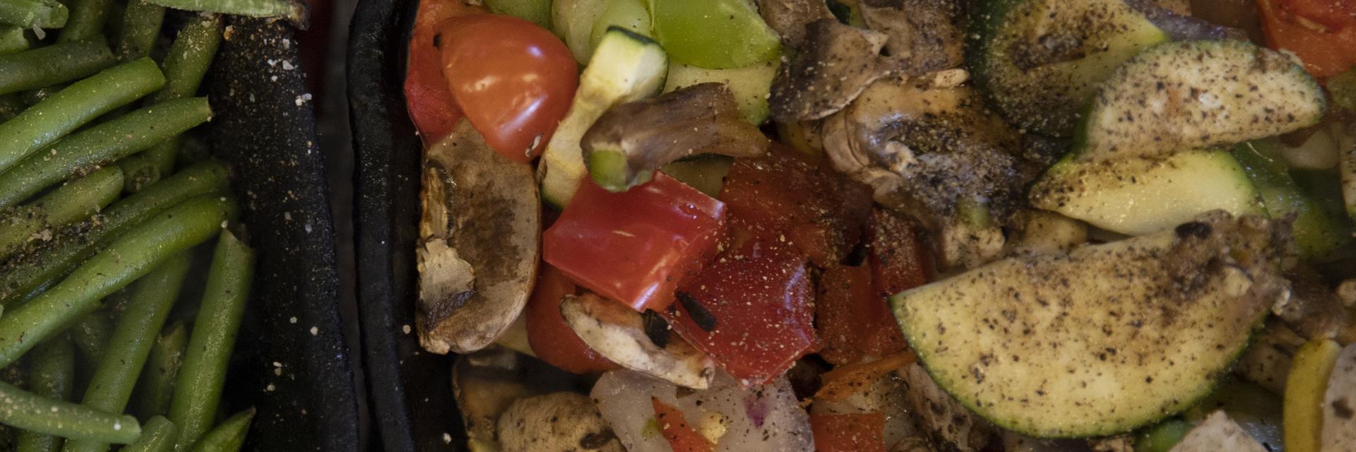 Vegetable sides from Do Mundo's on Monday April 22, 2019. Sam O'Keefe/University of Missouri